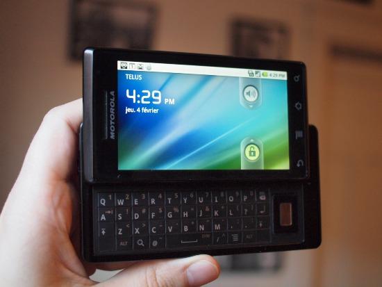 Motorola Milestone Telus