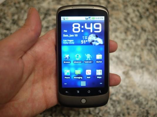 Nexus one vendre un t l phone cellulaire directement aux consommateurs ne - Telephone a vendre pas cher ...