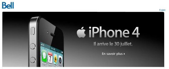 bell iphone