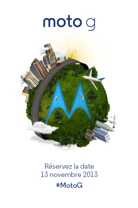 Moto G Réservez la date